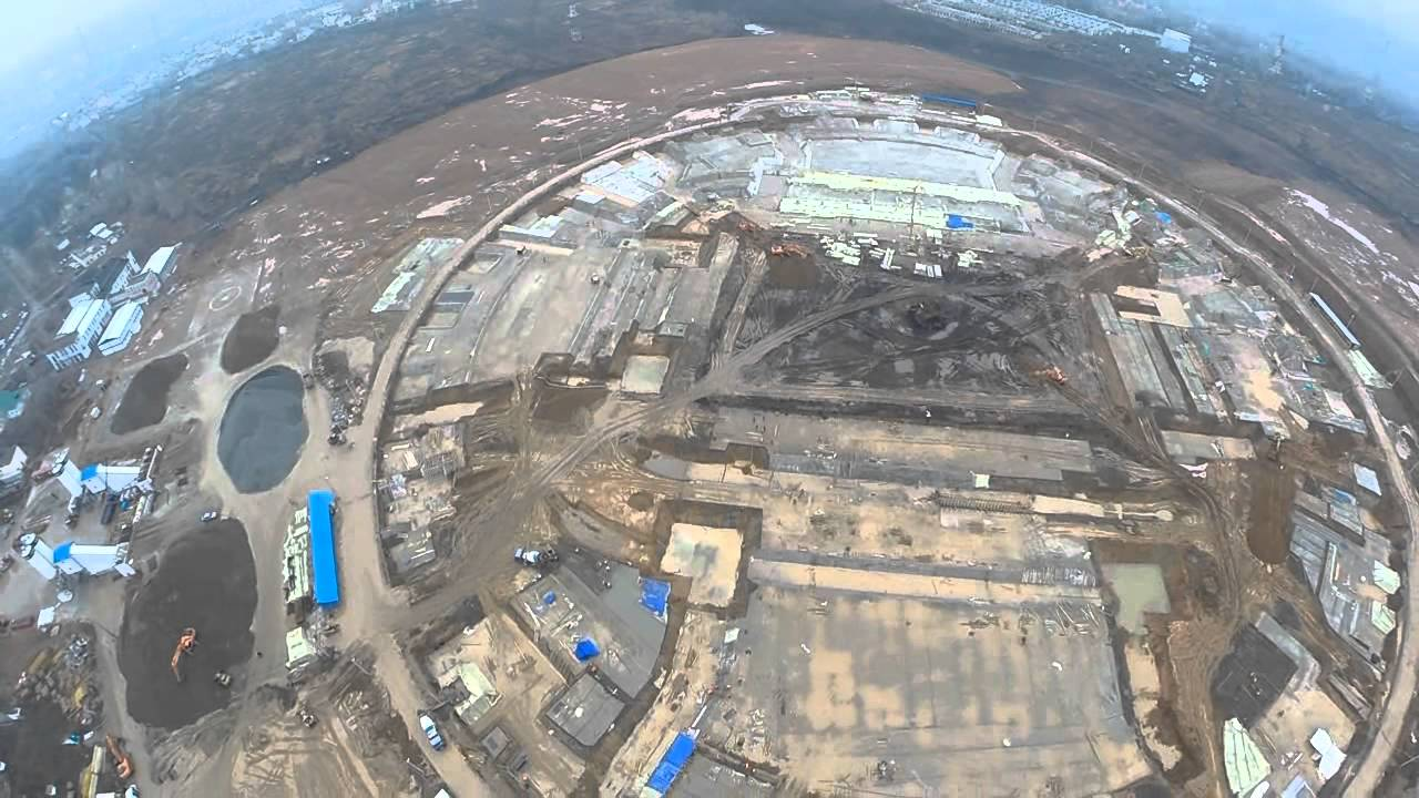 Строительство стадиона к ЧМ 2018 в Самаре