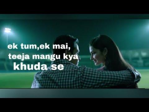 Ek Tum Ek Mai Teeja Mangu Kya Khuda Se Lyrics Itani Si Baat Hai Female Lyrics  Azharsong