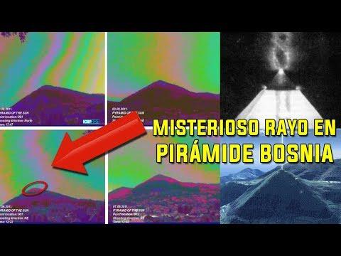 Las pirámides de Bosnia emiten RAYOS DE ENERGÍA DESCONOCIDA