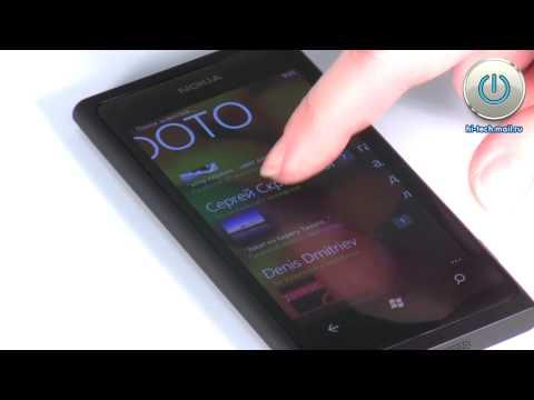 Обзор смартфона Nokia Lumia 800 на Windows Phone 7.5 Mango
