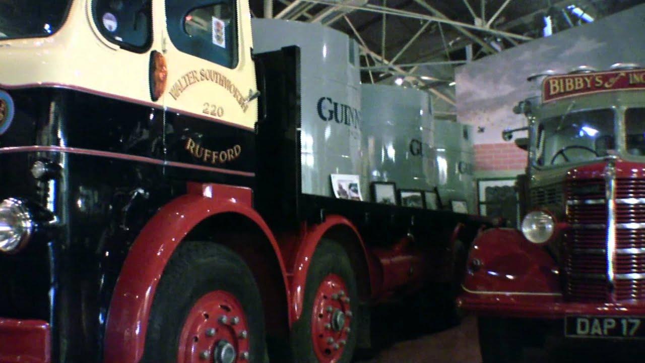 Leyland British Commercial Vehicle Museum - YouTube