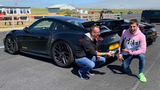 COCKY Supercar Owner Bets £1,000 He's Faster!