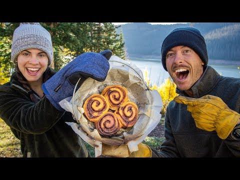 Worlds BEST Cinnamon Rolls | Dutch Oven Camp Cooking