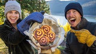 Worlds BEST Cinnamon RoĮls | Dutch Oven Camp Cooking