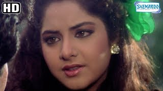 Rishi Kapoor Express his love to Divya Bharti - Deewana {1992} - ShahRukh Khan - Hit Bollywood Movie