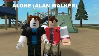 ROBLOX Bully Story - Alone (Alan Walker 100 Sub Special Part 1)