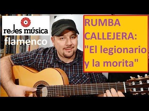 Aprende Rumba Callejera: El Legionario Y La Morita Melodía Letra Acordes Pdf Tablatura Gratis