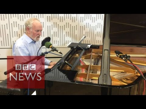 'Packed Lunch': Sir Richard Stilgoe plays election mix  - BBC News