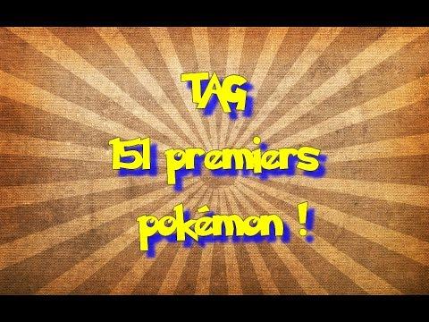[TAG] les 151 premiers pokémon en...