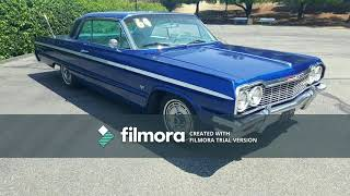 1964 CHEVY IMPALA SS DARK BLUE - MATCHING NUMBERS - 805-350-1688