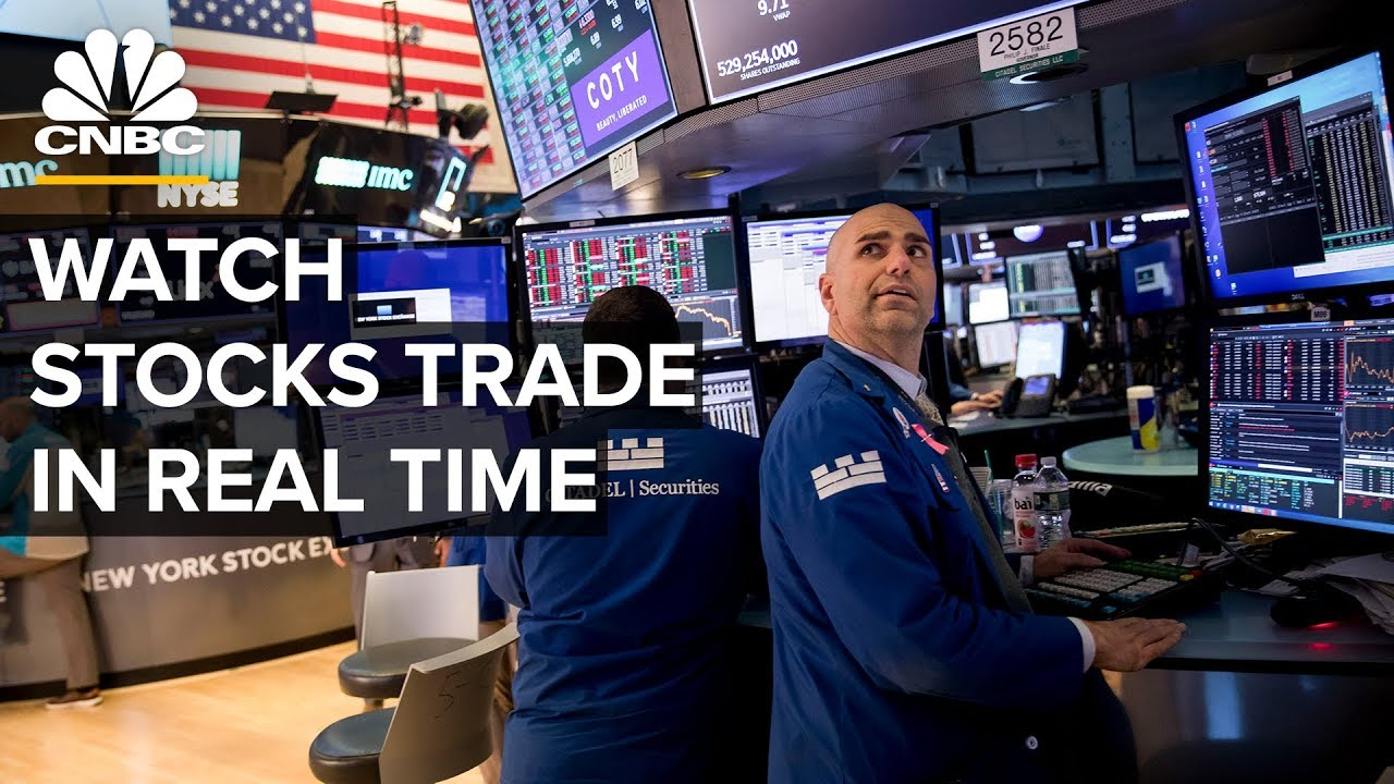 Watch stocks trade in real time after Dow's third worst-day ever– 3/17/2020