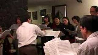 Nhu Mot Vang Trang - Choir practice