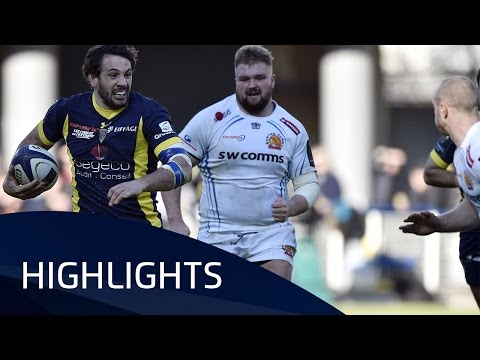 ASM Clermont Auvergne v Exeter Chiefs  (Pool 5) Highlights – 21.01.17