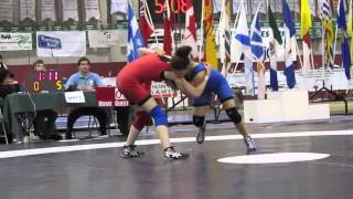 2013 Cadet National Championships: 49 kg Final Ciara Di Salle vs. Amber Wiebe