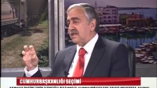 Bağımsız Cumhurbaşkanı adayı Mustafa Akıncı Serhat İncirli'nin konuğu oldu