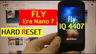 Сброс графического ключа Fly IQ4407 era nano 7 Factory Hard reset(Hard reset Fly iq4407 Factory reset. Сброс настроек fly. Восстановление заводских настроек. Сброс на заводские настройки...., 2016-07-03T10:51:30.000Z)