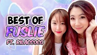 BEST OF FUSLIE #7 - KCON, COOKING AND FRIENDS (FT. RILACCOCO)