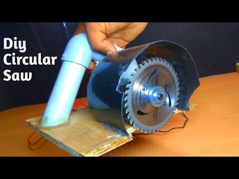 Amazing Diy Circular saw from Dc Motor