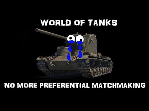 world of tanks preferential matchmaking list 2018