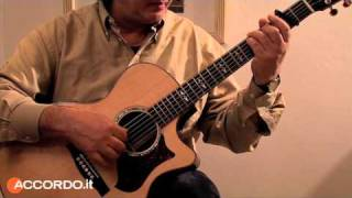"Didattica: Traditional Fingerstyle, di Franco Morone - Christmas Fingerstyle,""The First Nowell"""