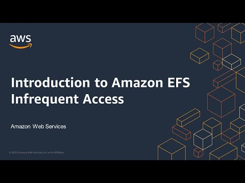 Introduction to Amazon EFS Infrequent Access
