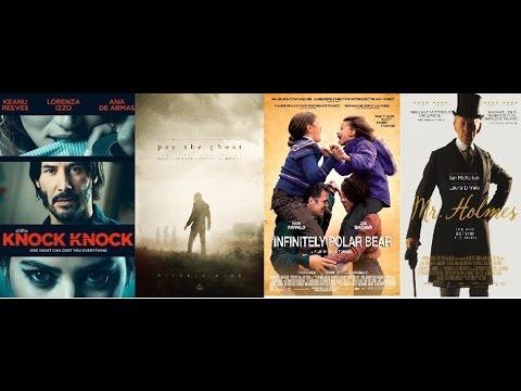 Download AJ's Movie Reviews: Knock Knock, Pay The Ghost, Infinitely Polar Bear & Mr. Holmes(10-30-15)