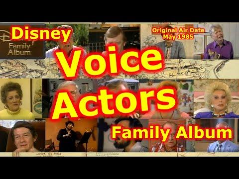 Disney Voice Actors  Disney Family Album