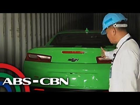 TV Patrol: Mamahaling mga sasakyan na undervalued, naharang