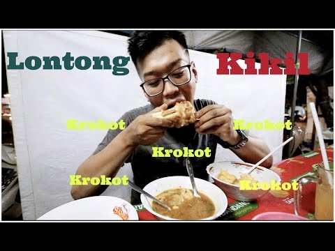 Makan Lontong Kikil Dapet kaki Sapi nya Juga