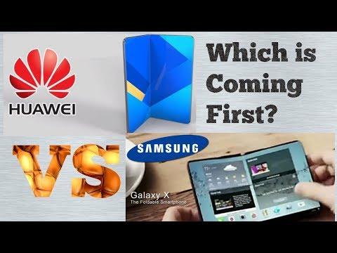 Huawei Foldable Phone : A Samsung Galaxy X Rival / Xiaomi Black Shark, Gaming phone #galaxyx