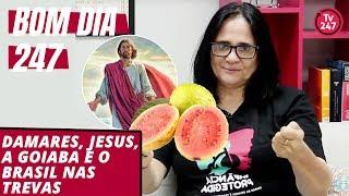 Bom dia 247 (12.12.18) – Damares, Jesus, a goiaba e o Brasil nas trevas