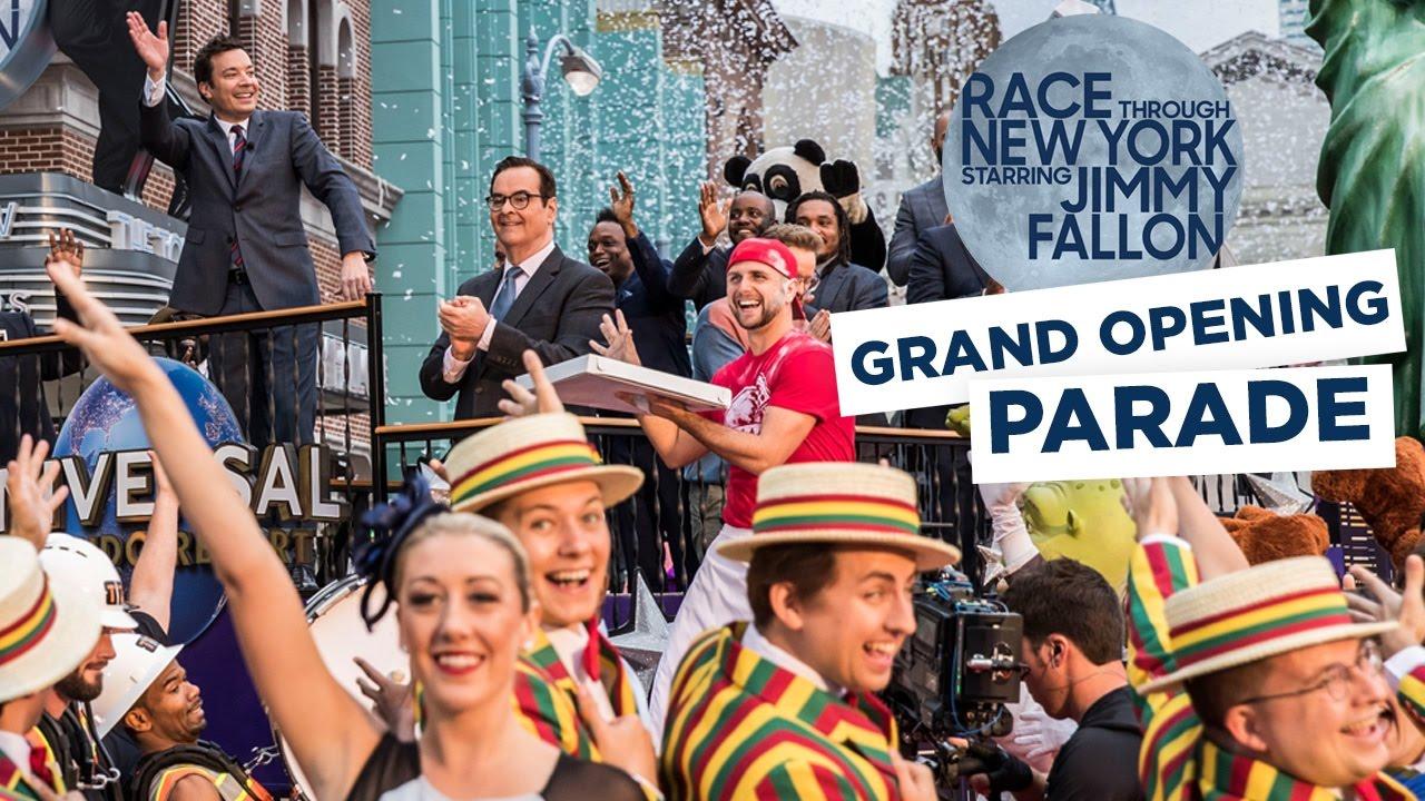 race-through-new-york-starring-jimmy-fallon-grand-opening