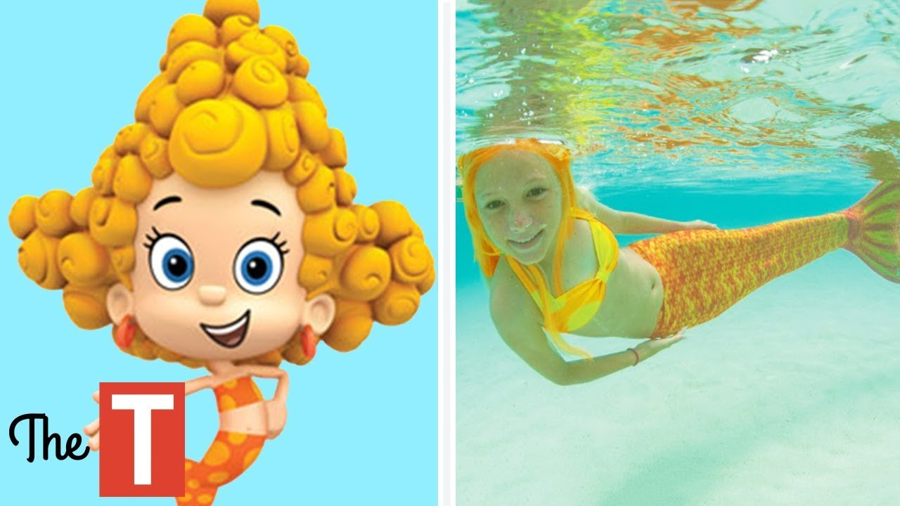 10 Bubble Guppies Characters In Real Life