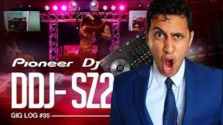 DJ GIG LOG: Mixing on the PIONEER DDJ-SZ2   Massive DJ SETUP