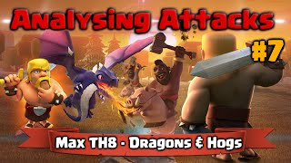 Clash of Clans   Analysing Attacks #7 - Dragons and Hogs 3 Star Max TH8 War Base Layout