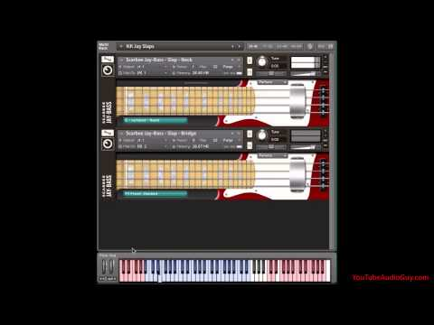 Slap Funk with Native Instruments Scarbee Jay Bass - Pt 1 of 2
