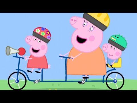 Peppa Pig In Hindi - Bicycles - Clips - हिंदी Kahaniya - Hindi Cartoons For Kids