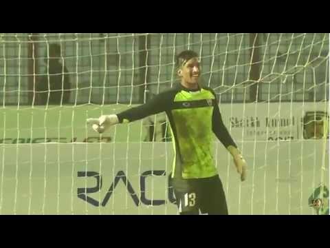 kiran chemjong's Great Penalty save to win Title for TC Sports club
