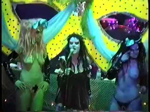 Karen Black, Halloween at Webster Hall, 10/31/1994.