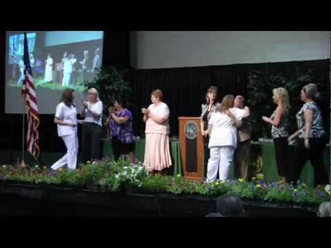 WOSC Nursing Pinning 2012