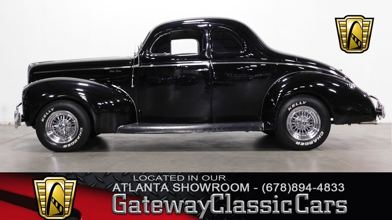 1940 Ford Coupe - Gateway Classic Cars of Atlanta #627 - YouTube