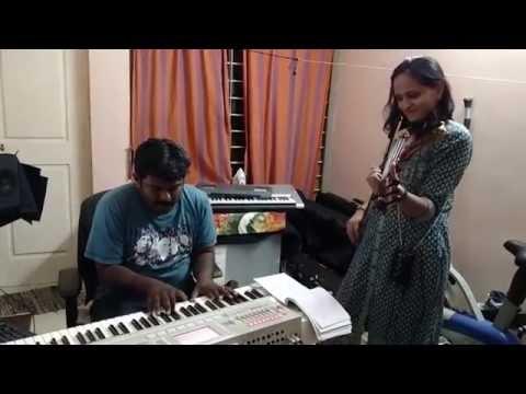 Innum Konjam Naeram | Maryan | Violin | Roopa Revathi | Dhanush