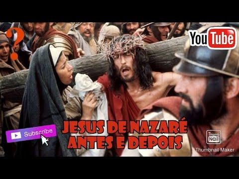 Antes e Depois Do Filme Jesus De Nazaré 1977-2018.