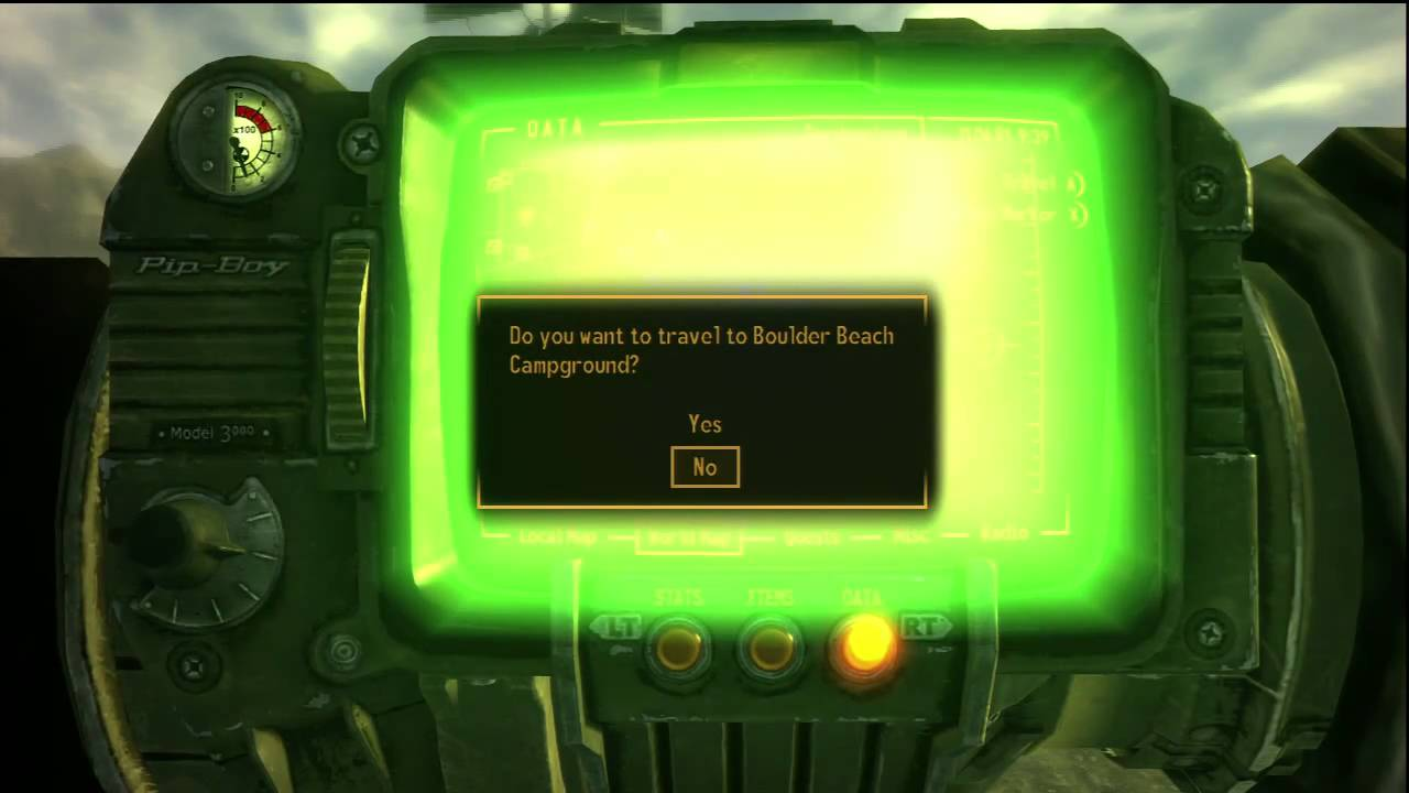 WTF is wrong with my Pip-Boy? (FIXED)