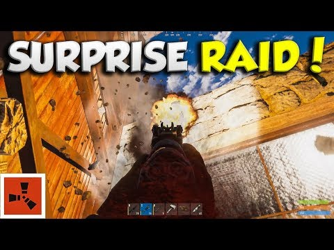 HQM FARM gets WIPED by an ONLINE ROCKET RAID! | RUST