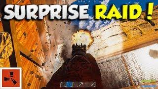HQM FARM gets WIPED by an ONLINE ROCKET RAID! | RUST