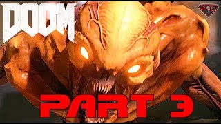 "DOOM 4 Gameplay Walkthrough Part 3 ""Meltdown"" 1080p 60fps|Let"