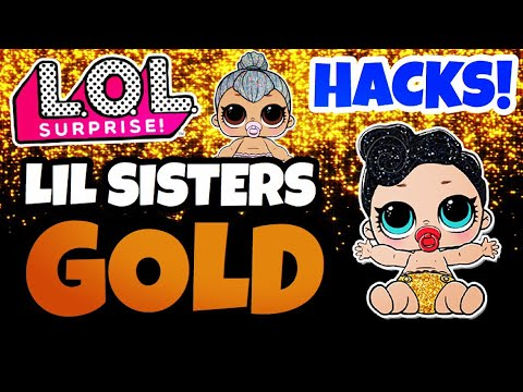 HOW TO FIND RARE & ULTRA RARE LOL SURPRISE DOLLS | GOLD BALLS HACKS! L.O.L LIL KITTY QUEEN & QUEEN!