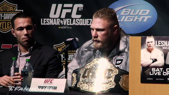 Brock Lesnar And Cain Velasquez Weigh In For Ufc 121 Mma Weekly News Youtube