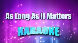 Gin Blossoms, The - As Long As It Matters (Karaoke & Lyrics)